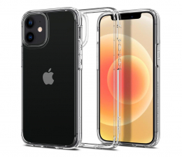 Etui / obudowa na smartfona Spigen Ultra Hybrid do iPhone 12 Mini Crystal Clear