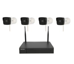 Zestaw do monitoringu Hikvision HWK-N4142B-MH/W 4 kamery 2MP, IP67, NVR 1TB, Wi-Fi