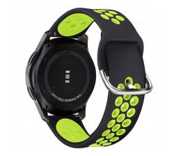 Pasek / bransoletka Tech-Protect Pasek Softband do smartwatchy black/lime
