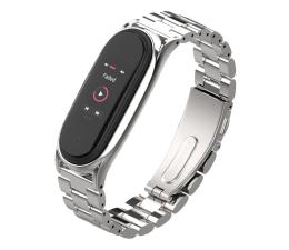 Pasek / bransoletka Tech-Protect Bransoleta Stainless do Xiaomi Mi Band 5 silver