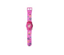 Zabawka interaktywna EUROSWAN Zegarek cyfrowy ze świecącą pokrywą ochronną Świnka Peppa