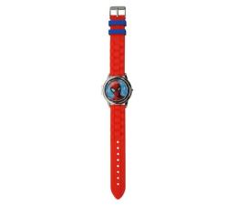 Zabawka interaktywna EUROSWAN Zegarek cyfrowy ze spinerem w metalowej obudowie Spider-Man