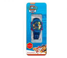 Zabawka interaktywna EUROSWAN Zegarek cyfrowy ze światełkami Led Psi Patrol Pw16680