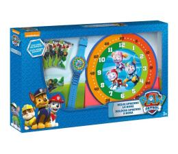 Zabawka edukacyjna EUROSWAN Zestaw do nauki o czasie z zegarkiem i kartami do gry Psi Pa