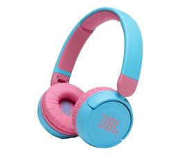 Słuchawki bezprzewodowe JBL JR310BT Błękitno-różowe