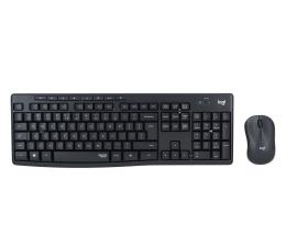 Zestaw klawiatura i mysz Logitech MK295 Silent Wireless grafitowy