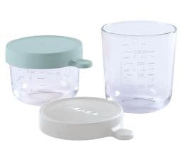 Pojemnik / woreczek na pokarm Beaba Zestaw pojemników słoiczków szklanych 150 + 250 ml