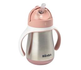 Kubek / bidon Beaba Butelka - kubek niekapek stalowa ze słomką 250 ml