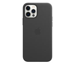 Etui / obudowa na smartfona Apple Skórzane etui iPhone 12 12Pro czarne