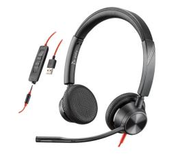 Słuchawki biurowe, callcenter Plantronics Blackwire 3325 USB-A + jack 3,5mm
