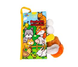 Zabawka edukacyjna Dumel Jolly Baby Puchate Zwierzaki Ogonki