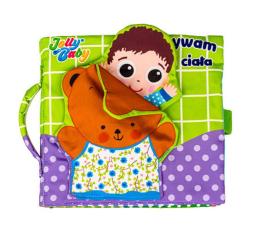 Zabawka edukacyjna Dumel Jolly Baby Odkrywamy Części Ciała