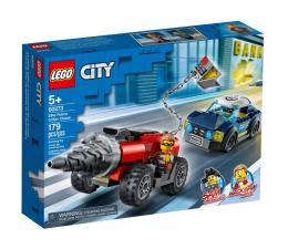 Klocki LEGO® LEGO City Policyjny pościg za wiertnicą