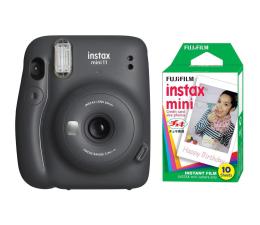 Aparat natychmiastowy Fujifilm Instax Mini 11 szary + wkłady (10 zdjęć)