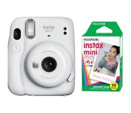 Aparat natychmiastowy Fujifilm Instax Mini 11 biały + wkłady (10 zdjęć)