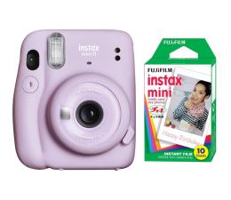 Aparat natychmiastowy Fujifilm Instax Mini 11 purpurowy + wkłady (10 zdjęć)