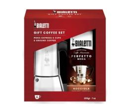 Ekspres do kawy Bialetti Zestaw Venus 6tz+kawa Perfetto Nocciola