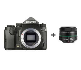 Lustrzanka Pentax KP body czarny + DA 35mm F2.4