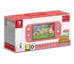 Konsola Nintendo Nintendo Switch Lite - Koralowy + ACNH + NSO 3 miesiące