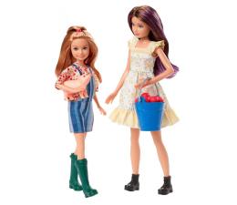 Lalka i akcesoria Barbie Skipper i Stacie na farmie