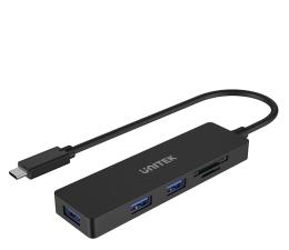 Hub USB Unitek HUB USB-C - 3x USB, SD
