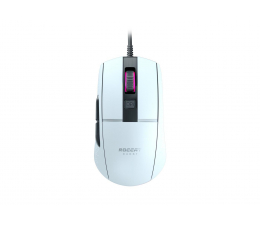 Myszka przewodowa Roccat Burst Core AIMO biała