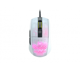 Myszka przewodowa Roccat Burst Pro AIMO biała