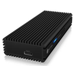 Obudowa dysku ICY BOX M.2 NVMe - USB 3.2 Gen 2x2, do 20 Gbps, Heatsink
