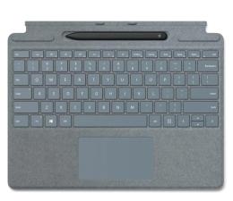 Klawiatura do tabletu Microsoft Type Cover do Surface Pro X + Rysik Ice Blue