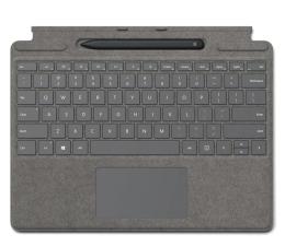 Klawiatura do tabletu Microsoft Type Cover do Surface Pro X + Rysik Concrete