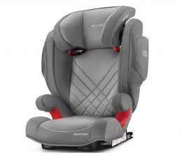 Fotelik 15-36 kg Recaro Monza Nova 2 Seatfix Aluminium Grey
