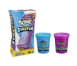 Zabawka plastyczna / kreatywna Play-Doh Slime Super stretch 2-pak fiolet i niebieski