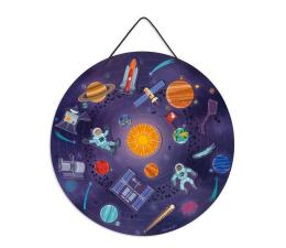 Zabawka kreatywna Janod Układanka drewniana magnetyczna z 20 magnesami Układ słonecz