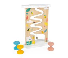 Zabawka edukacyjna Janod Tor zjeżdżalnia z dzwoneczkiem drewniany Pure