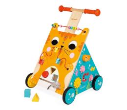Zabawka edukacyjna Janod Wielofunkcyjny pchacz edukacyjny Kot
