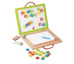 Zabawka drewniana Janod Magnetyczna walizeczka tablica 4w1