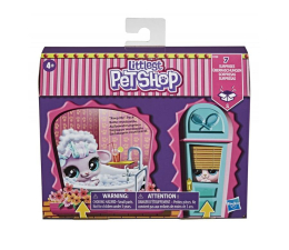 Figurka Littlest Pet Shop Fantazyjny salon + figurki