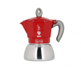 Ekspres do kawy Bialetti New Moka Induction 2tz Czerwona