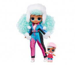 Figurka L.O.L. Surprise! OMG Winter Chill Lalka Icy Gurl i Brrr