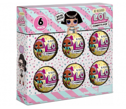 Figurka L.O.L. Surprise! 6 Pack Confetti- Pharaoh Babe