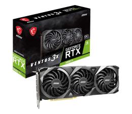 Karta graficzna NVIDIA MSI GeForce RTX 3060 Ti VENTUS 3X OC 8GB GDDR6