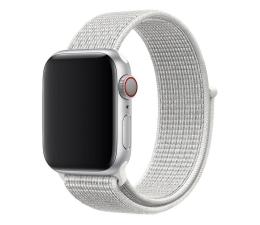 Pasek / bransoletka Apple Opaska Sportowa Nike do Apple Watch śnieżnobiały