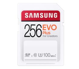 Karta pamięci SD Samsung 256GB SDXC EVO Plus 100MB/s