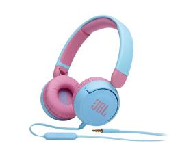 Słuchawki przewodowe JBL JR310 Niebiesko-różowe
