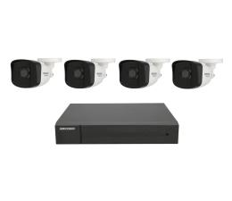 Zestaw do monitoringu Hikvision HWK-N4142BH-MH 4 kamery 2MP IP67, NVR 1TB, PoE