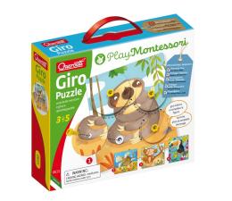 Puzzle dla dzieci Quercetti Montessori Puzzle zwierzęce