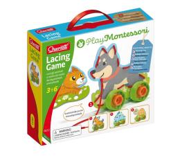 Puzzle dla dzieci Quercetti Montessori Wiązanka sznurowanka