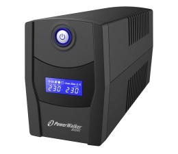 Zasilacz awaryjny (UPS) Power Walker LINE-INTERACTIVE (1000VA/600W, 2x FR, LCD, AVR)