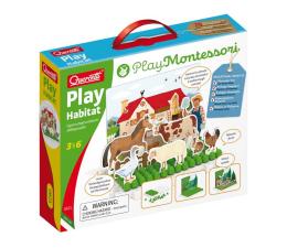 Puzzle dla dzieci Quercetti Montessori Zabawa ze środowiskiem