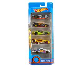 Pojazd / tor i garaż Hot Wheels Zestaw samochodzików 5 pack